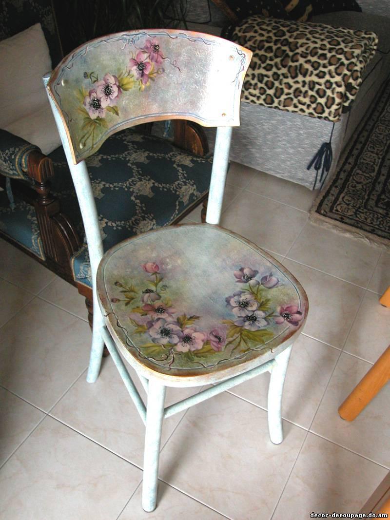 Как обновить старые стулья своими руками мастер класс