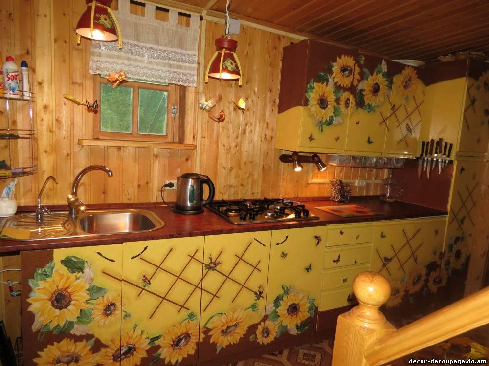 Кухня обновить своими руками