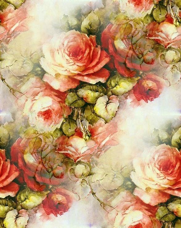 Картинки для декупажа фоны розы